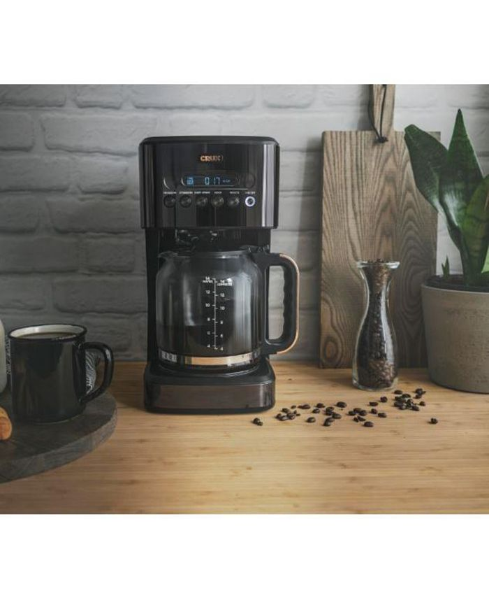 Crux - CRUX 14 CUP PROGRAMMABLE COFFEE MAKER