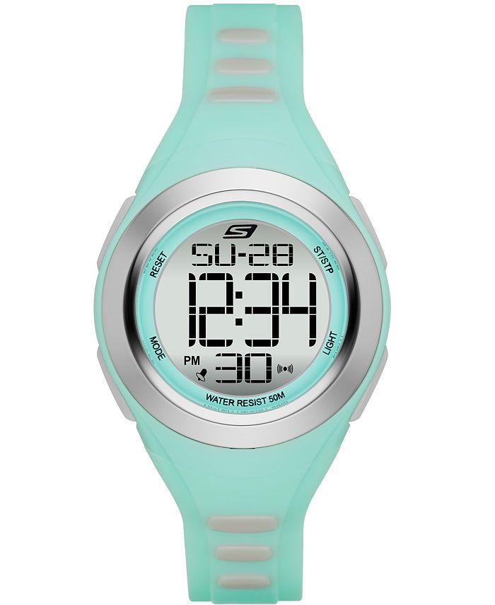 Skechers - Women's Tennyson Silicone Strap Watch 33mm