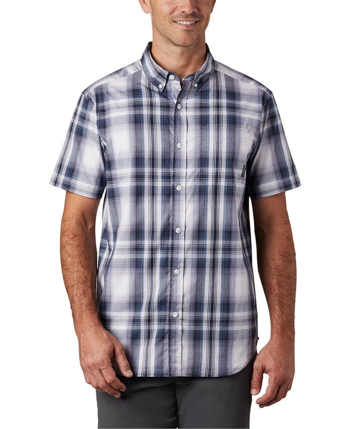 Columbia - Men's Rapid Rivers Plaid Short-Sleeve Shirt