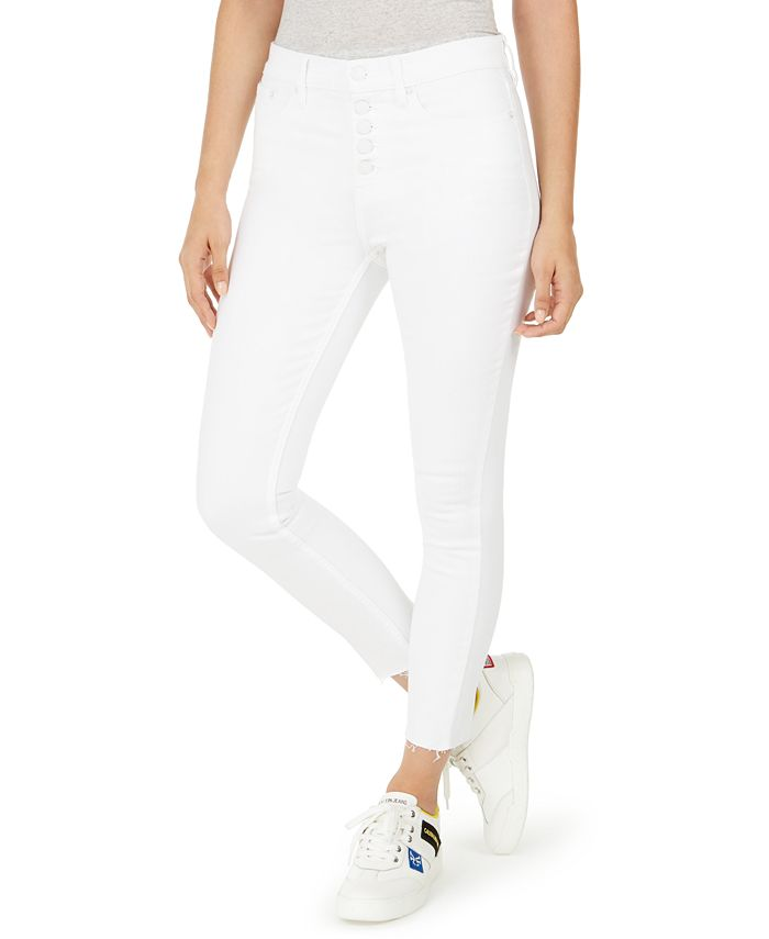 Calvin Klein Jeans - High-Rise Button-Fly Skinny Jeans