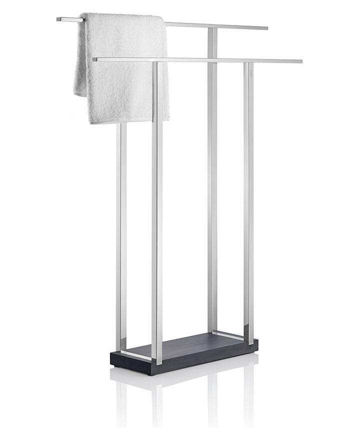 blomus - Free Standing Towel Rack - Wide - Polished