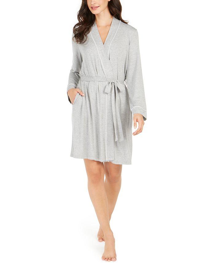 Alfani - Piping Trim Short Robe