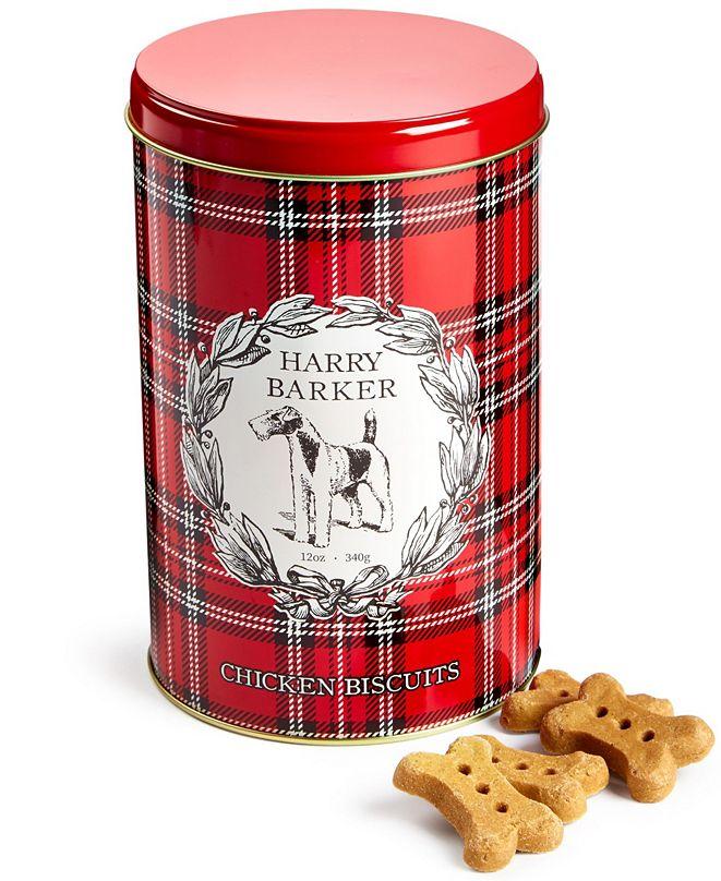 Harry Barker Plaid Chicken-Flavored Biscuit Tin