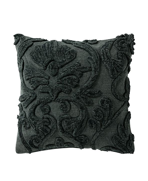Waterford Garner 18 Square Textured Decorative Pillow