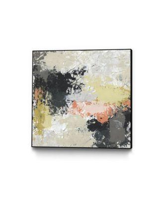 """20"""" x 20"""" Gossamer Cloud II Art Block Framed Canvas"""