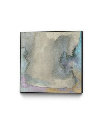 """30"""" x 30"""" Frosted Glass III Art Block Framed Canvas"""