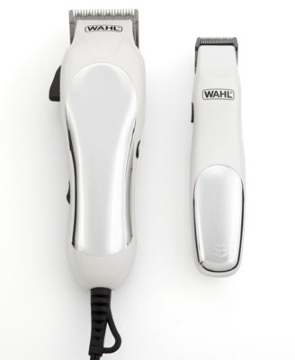 Wahl 79524-4201 Chrome Pro Combo Complete Clipper Plus Trimmer