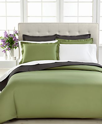 Charter Club Damask Solid Comforter Cover
