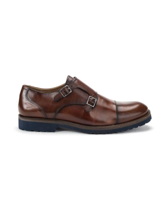 Belvedere Men's Newport Double Buckle Cap Toe Shoe & Reviews - All Men's Shoes - Men - Macy's
