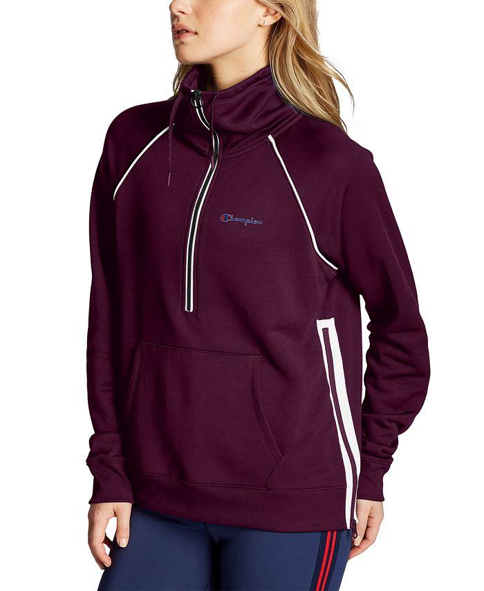 Champion - Phys Ed Double Dry Half-Zip Sweatshirt