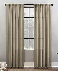 Clean Window Waffle Texture Anti-Dust Curtain Collection