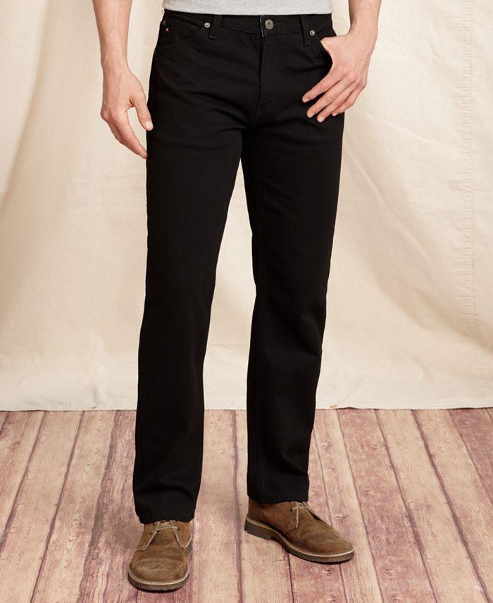 Tommy Hilfiger - Men's Big & Tall Collegiate Black Jeans