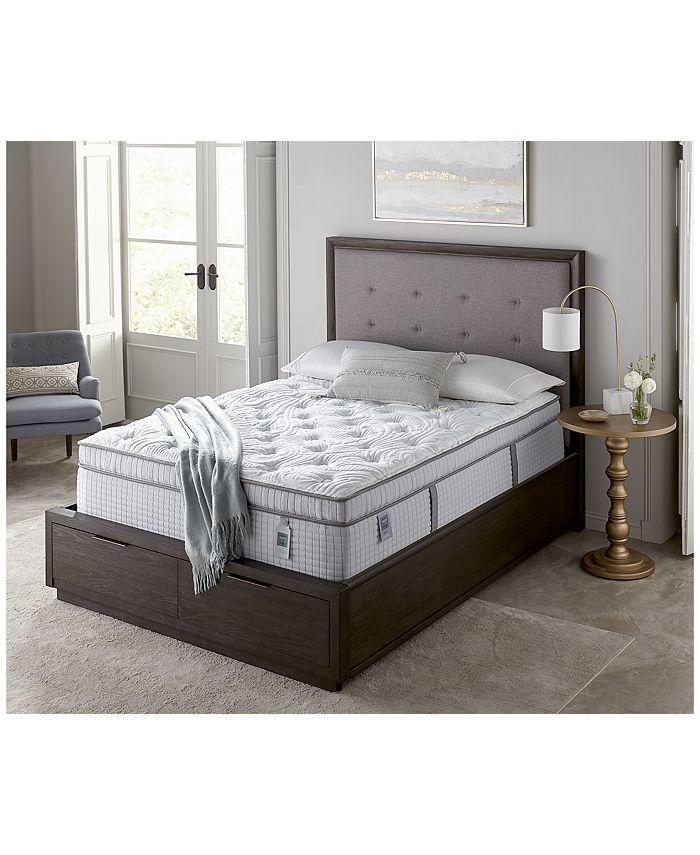 """Scott Living - Cascade 14.5"""" Plush Euro Pillow Top Mattress- Twin XL"""