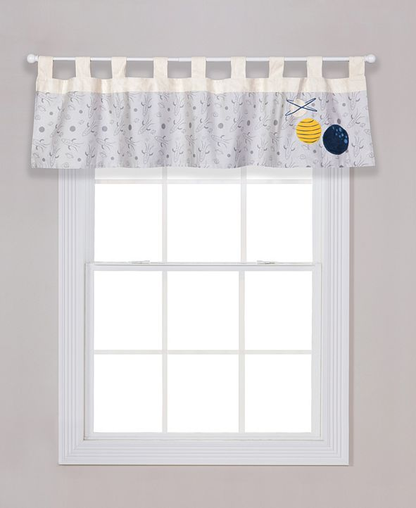 Trend Lab Galaxy Print Window Valance