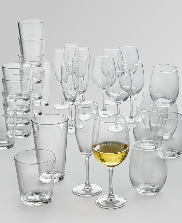 Martha Stewart Collection - 30-Pc. Glassware Set