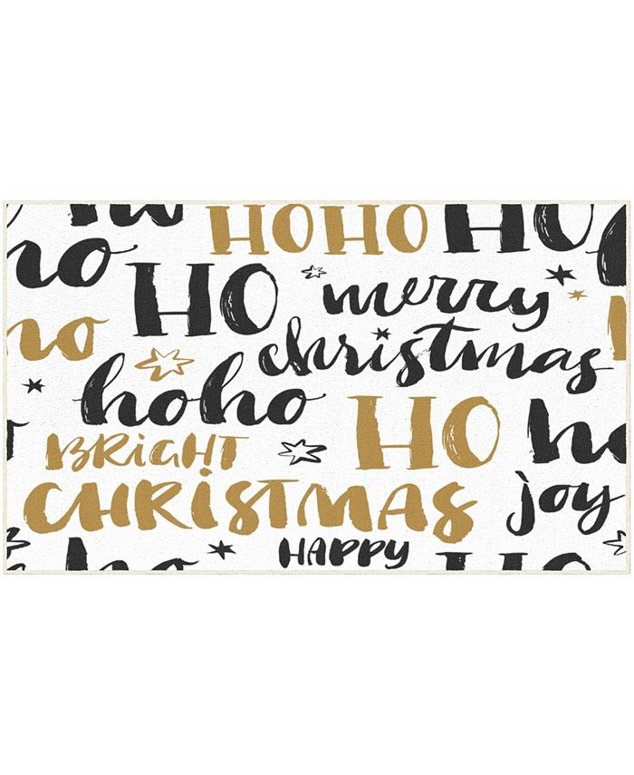 """Mohawk - Christmas Wishes Accent Rug, 24"""" x 40"""""""