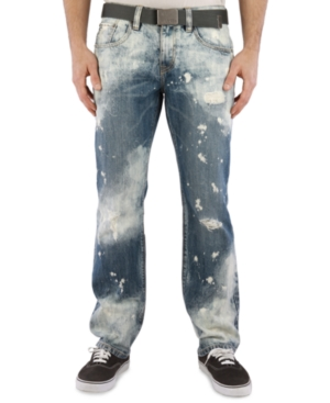 Marc Ecko Cut  Sew Jeans Chaos Wash Straight Leg