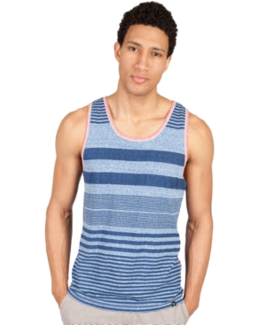 Marc Ecko Cut  Sew Shirt Rub a Dub Striped Tank Top