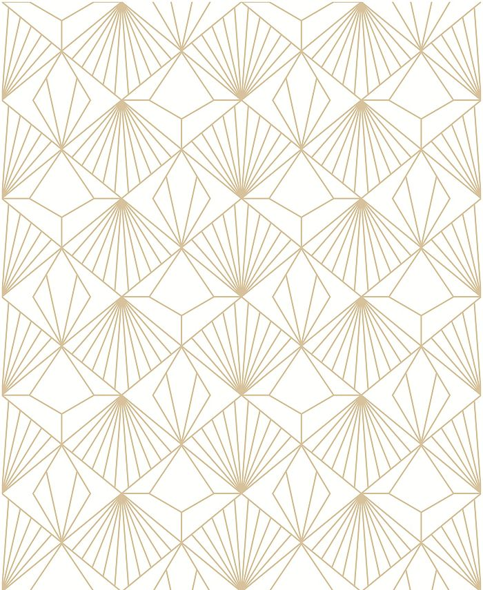 Graham & Brown - Diamond Black and Gold Wallpaper