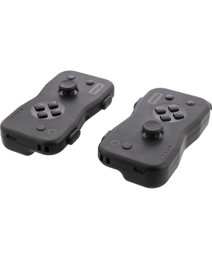 Nyko - Race, jump, shoot, run and more while feeling every bump and shot with Dualies for Nintendo Switch. Dualies are a motion controller set, the first 3rd party Joy-Con alternative and are perfect for adding additional players to a multiplayer experience.