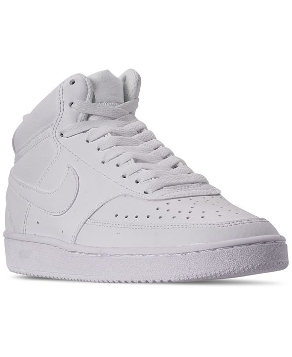 Nike Women's Court Vision Mid Casual Sneakers from Finish Line