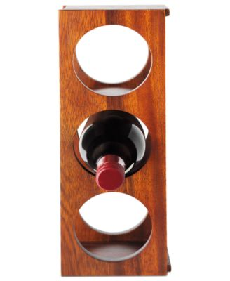 The Cellar Acacia Wood Wine Rack