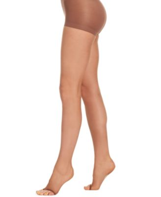 Donna karen toeless pantyhose can