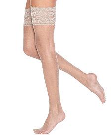 Berkshire Women's  Sheer Shimmer Thigh Highs Pantyhose 1340