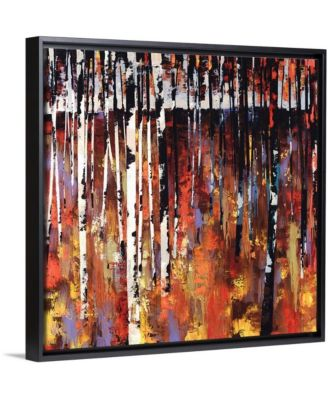 "24 in. x 24 in. ""Into The Woods Again"" by  Sydney Edmunds Canvas Wall Art"