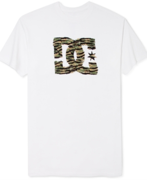 DC Shoes TShirt Tiger Star Short Sleeve TShirt