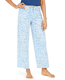 Hue® Cotton Temp Tech Animal-Print Pajama Pants