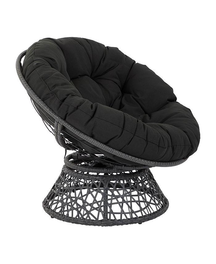 Office Star - Papasan Accent Chair, Quick Ship