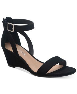Sun + Stone Jossie Wedge Sandals