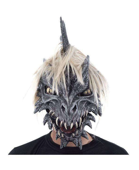 Zagone Studios ZagOne Size Studios Monroe The Dragon Latex Adult Costume Mask One Size