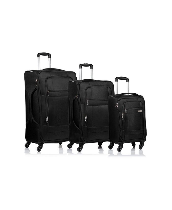 CHAMPS - 3-Pc. Pacific Softside Luggage Set