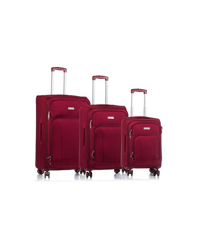 CHAMPS - 3-Pc. Travelers Softside Luggage Set