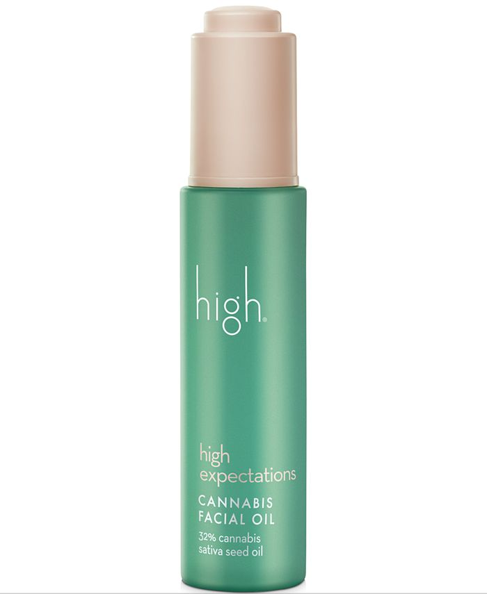 High - High Expectations Cannabis Facial Oil, 1-oz.