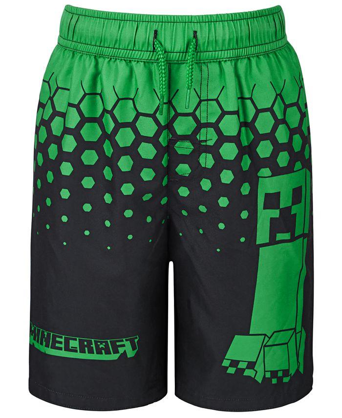 Dreamwave - Little Boys Minecraft Swim Trunks
