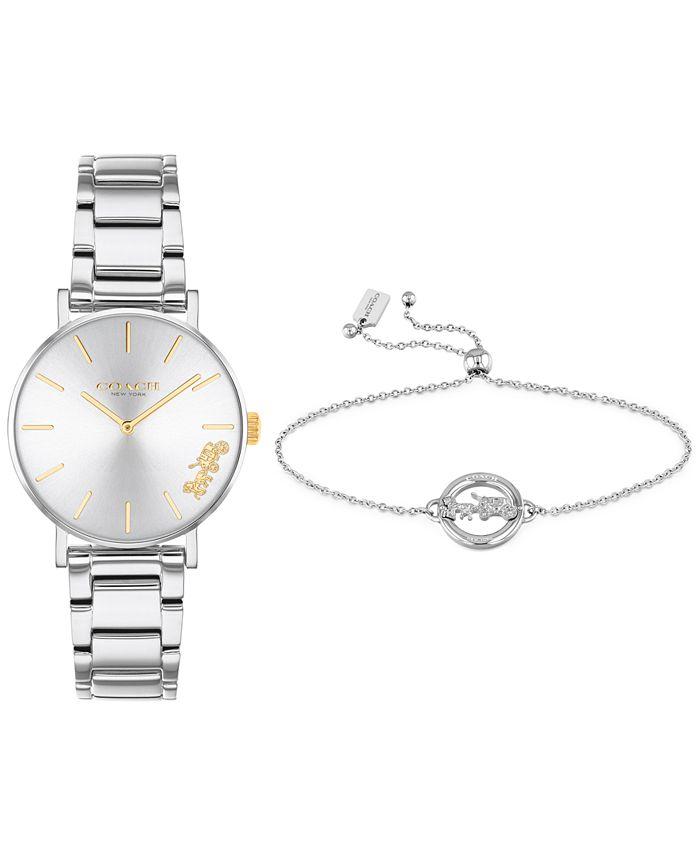 COACH - Women's Perry Stainless Steel Bracelet Watch 28mm