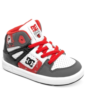 DC Shoes Kids Shoes Little Boys or Toddler Boys Wild Grinders Rebound UL WG Sneakers