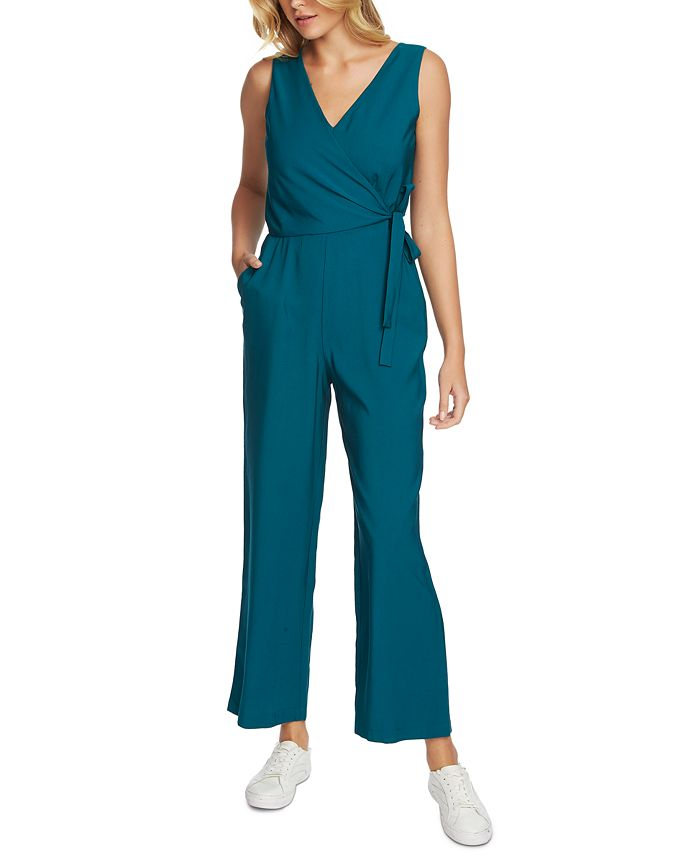 1.STATE - Belted Surplice Jumpsuit