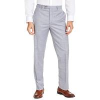 Deals on Lauren Ralph Lauren Mens Classic-Fit Sharkskin Dress Pants