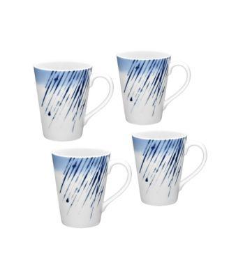Noriake Hanabi Set/4 Mugs
