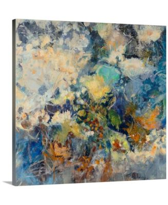 """36 in. x 36 in. """"Russian Floral"""" by  Jodi Maas Canvas Wall Art"""
