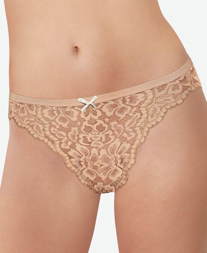Maidenform - Women's Sexy Must Haves Allover Lace Bikini DMCLBK