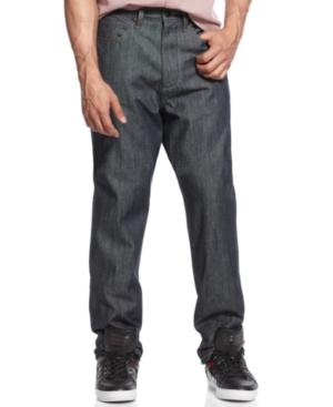 Sean John Jeans Garvey Raw Indigo Jeans