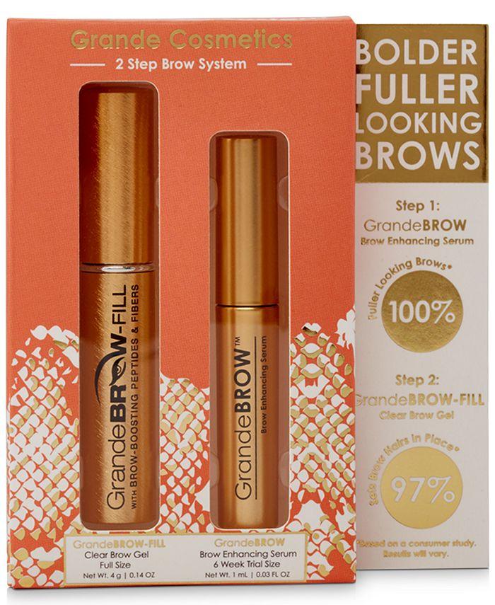 Grande Cosmetics - 2-Pc. Brow System Set