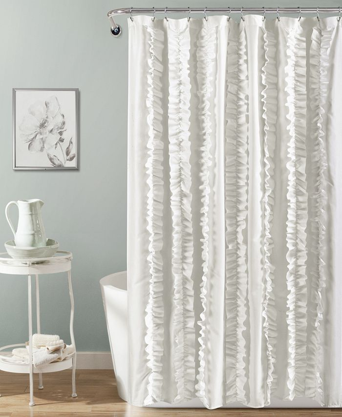 """Lush Décor - Belle 72"""" x 72"""" Shower Curtain"""