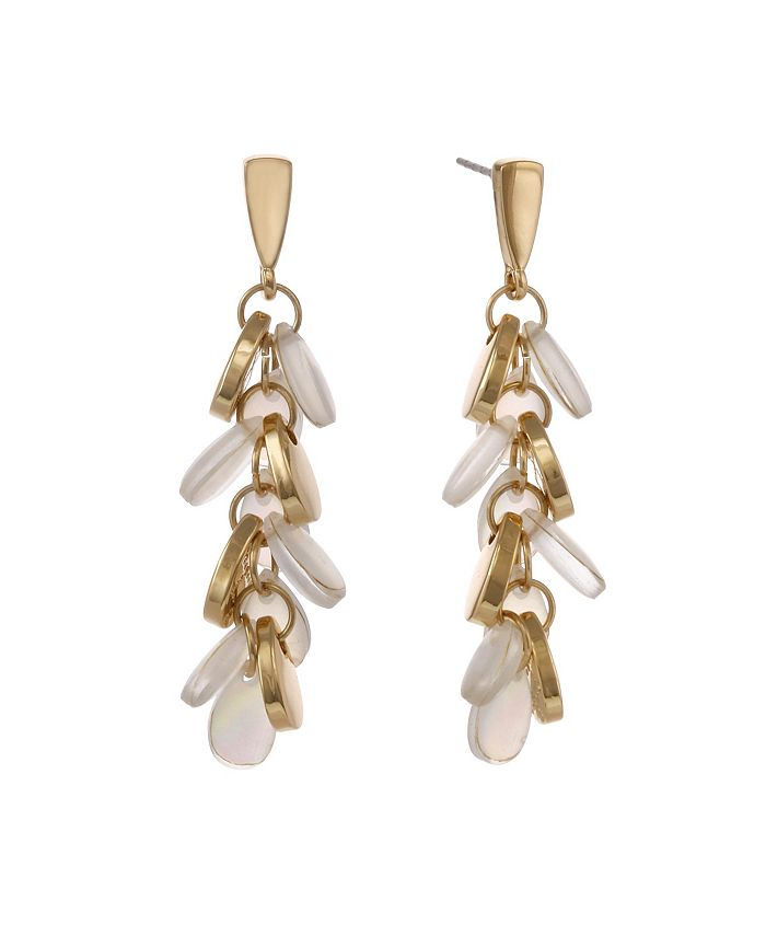Laundry by Shelli Segal - Linear Pearl Earrings