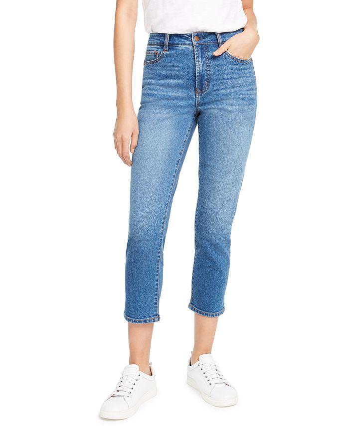 OAT - Cropped Straight-Leg Jeans